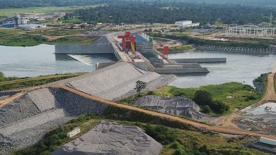 Photo of Isimba hydro power dam switched on, as Uganda's hydro power production ratings improve