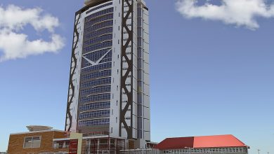 Photo of URA Tower graces Kampala skyline